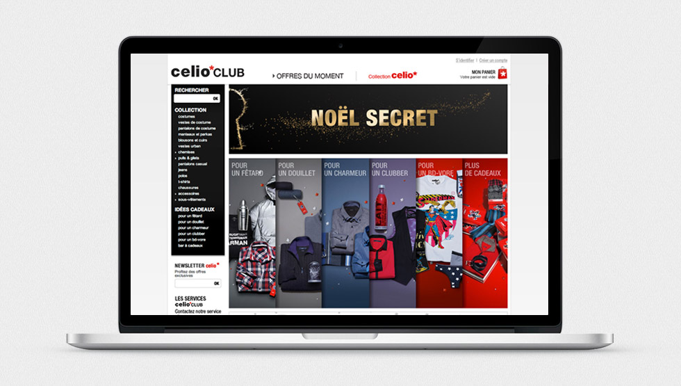Site Celio Club
